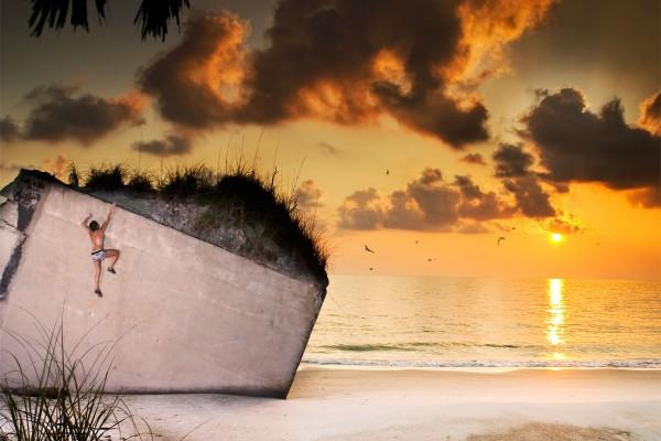 egmont sunset buildering