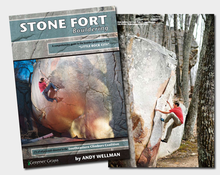 stonefort Stone Fort Guidebook   Just in time for Rocktoberclimbing