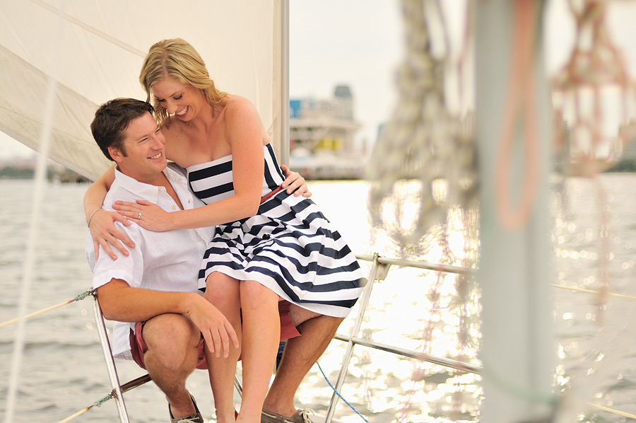 mamd2 Nautical Themed Engagement Shoot in St Petersburgsailing 2