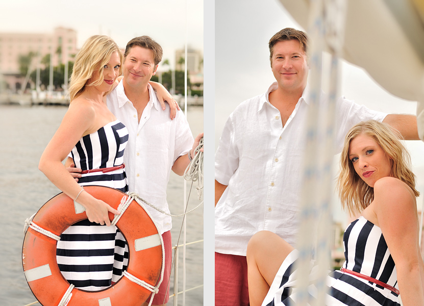mandm51 Nautical Themed Engagement Shoot in St Petersburgsailing 2