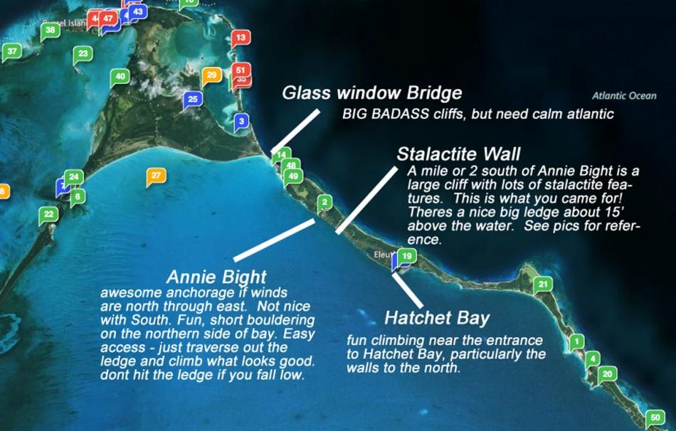 Eleuthera Climbing 950x606 Rock Climbing in the Bahamasclimbing