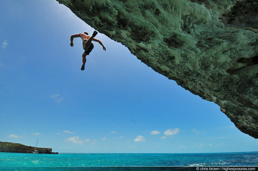 annie3 Rock Climbing in the Bahamasclimbing