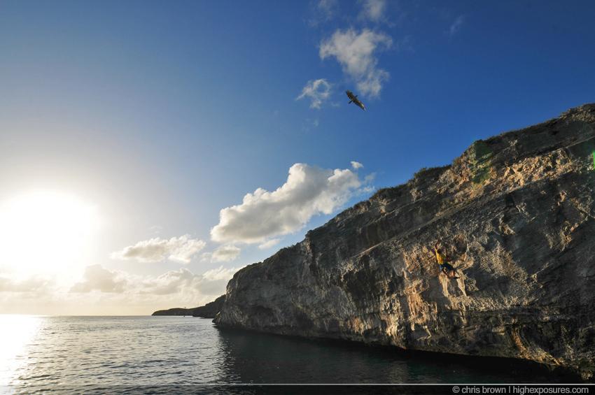 hatchet1 Rock Climbing in the Bahamasclimbing