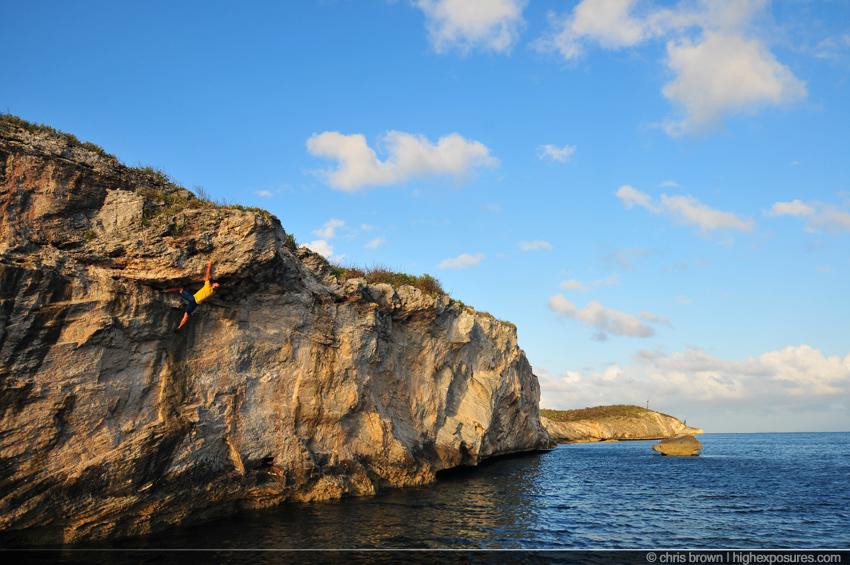 hatchet2 Rock Climbing in the Bahamasclimbing