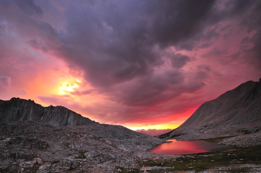 sunset Sierra Previewclimbing
